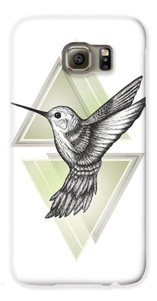 Hummingbird Galaxy S6 Case by Barlena