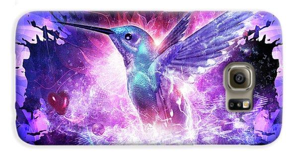 Hummingbird Love Galaxy S6 Case