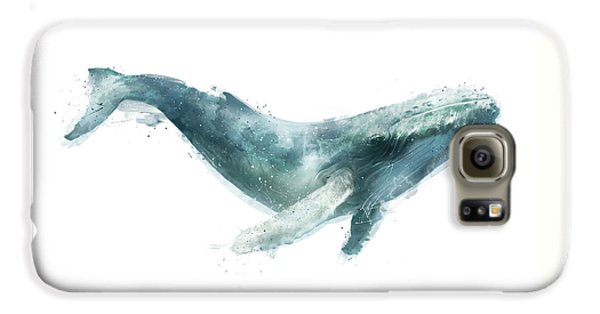 Humpback Whale From Whales Chart Galaxy S6 Case by Amy Hamilton