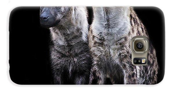 Griffon Galaxy S6 Case - Hyena Lookout by Martin Newman