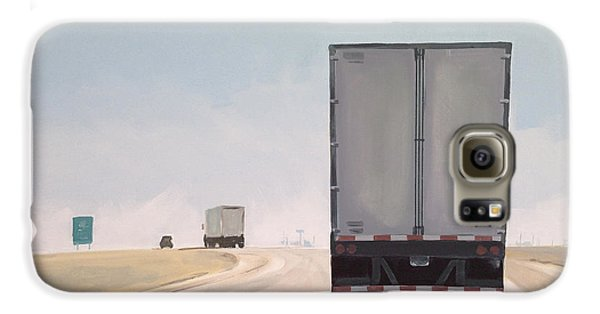 Truck Galaxy S6 Case - I-55 North 9am by Jeffrey Bess