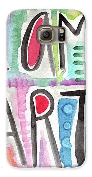 Visual Galaxy S6 Case - I Am Art by Linda Woods