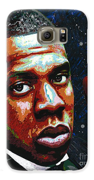 I Am Jay Z Galaxy S6 Case by Maria Arango