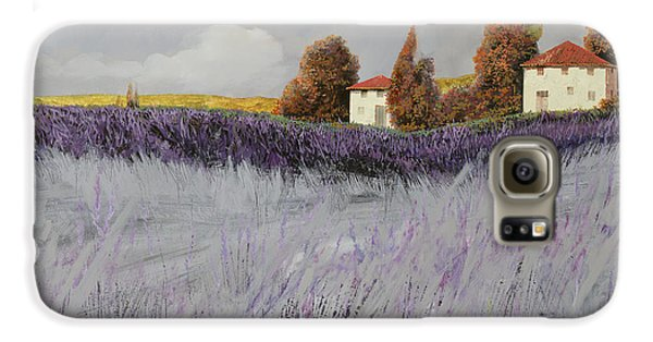 I Campi Di Lavanda Galaxy S6 Case by Guido Borelli
