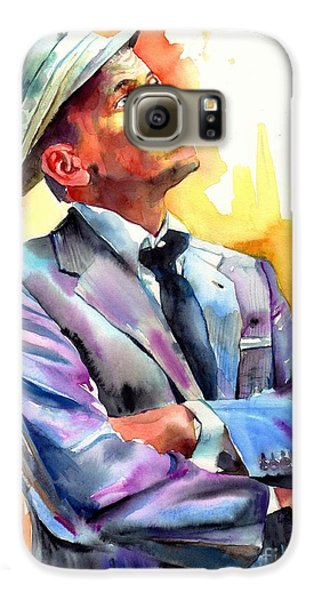 Frank Sinatra Galaxy S6 Case - I Did It My Way by Suzann's Art