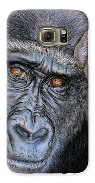 Gorilla Galaxy S6 Case - I Think Therefore I Am by Sarah Batalka