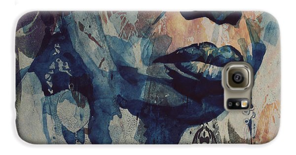 Rhythm And Blues Galaxy S6 Case - I Wish I Knew How It Would Be  Feel To Be Free by Paul Lovering