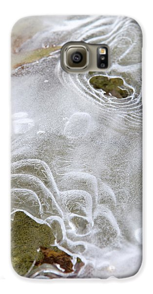 Galaxy S6 Case featuring the photograph Ice Abstract by Christina Rollo