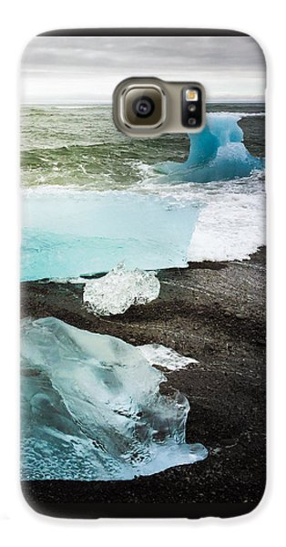 Cool Galaxy S6 Case - Iceberg Pieces Jokulsarlon Iceland by Matthias Hauser