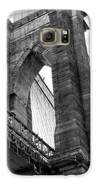 Brooklyn Bridge Galaxy S6 Case - Iconic Arches by Az Jackson