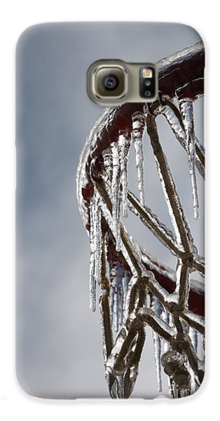 Icy Hoops Galaxy S6 Case by Nadine Rippelmeyer