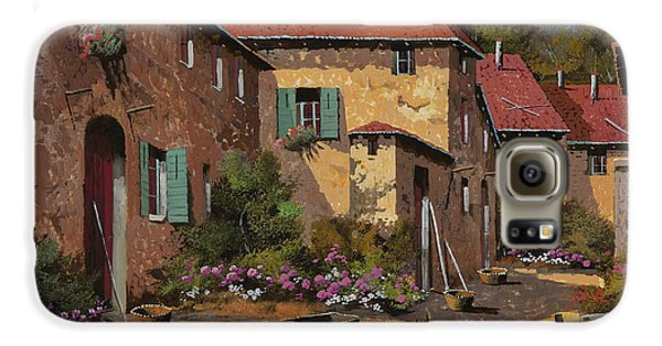 Chicken Galaxy S6 Case - Il Carretto by Guido Borelli