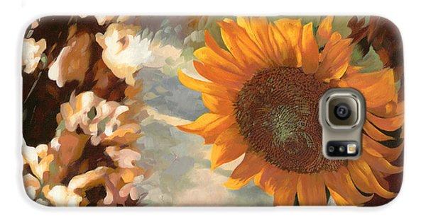 Sunflower Galaxy S6 Case - Il Girasole by Guido Borelli