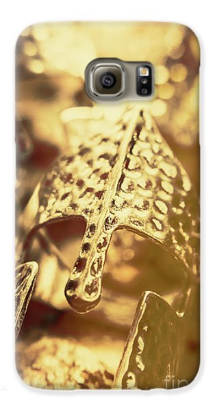 Knight Galaxy S6 Case - Illuminating The Dark Ages by Jorgo Photography - Wall Art Gallery