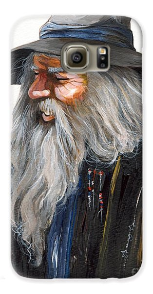 Impressionist Wizard Galaxy S6 Case by J W Baker