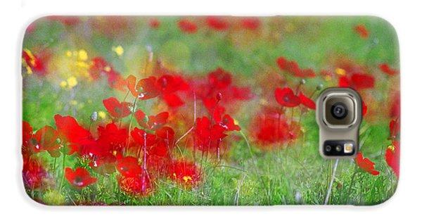 Impressionistic Blossom Near Shderot Galaxy S6 Case
