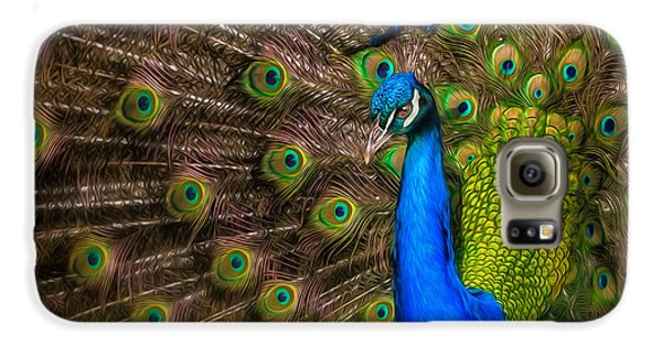 Galaxy S6 Case featuring the photograph India Blue by Rikk Flohr