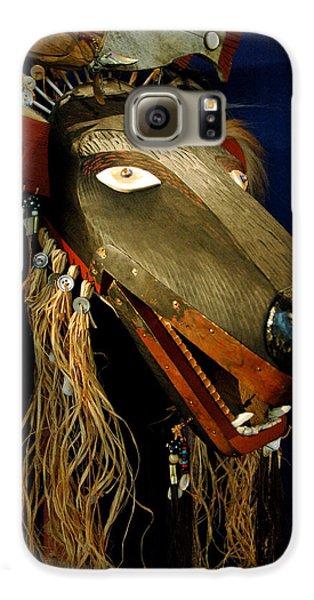 Indian Animal Mask Galaxy S6 Case by LeeAnn McLaneGoetz McLaneGoetzStudioLLCcom