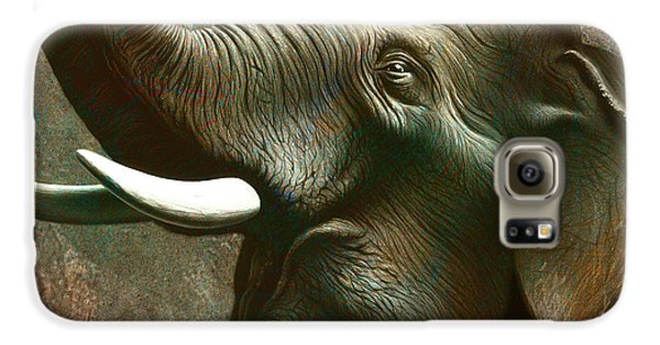 Trumpet Galaxy S6 Case - Indian Elephant 2 by Jerry LoFaro