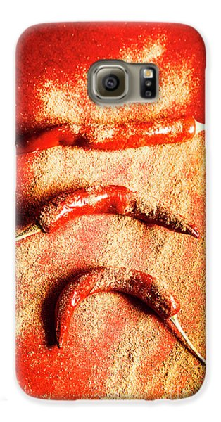 Turkey Galaxy S6 Case - Indian Food Seasoning And Spices by Jorgo Photography - Wall Art Gallery