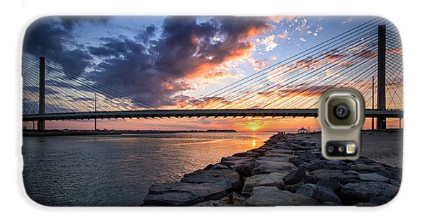 Indian River Inlet And Bay Sunset Galaxy S6 Case