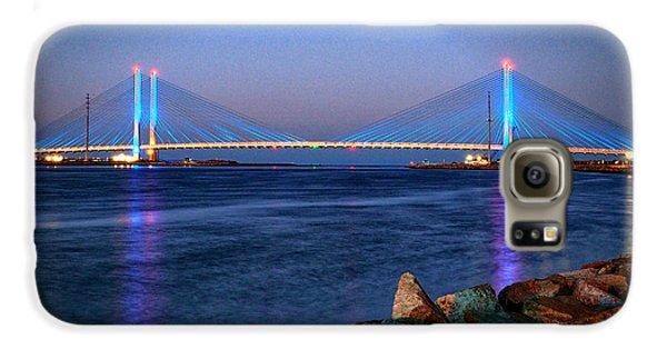 Indian River Inlet Bridge Twilight Galaxy S6 Case