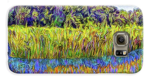 Indigo Lake Reflections Galaxy S6 Case by Joel Bruce Wallach