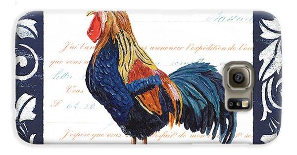 Indigo Rooster 2 Galaxy S6 Case by Debbie DeWitt