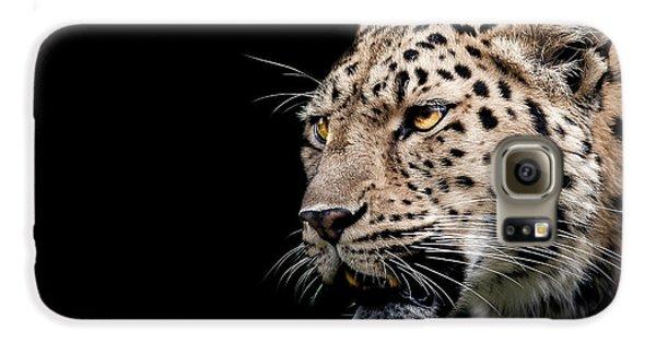 Leopard Galaxy S6 Case - Inner Strength  by Paul Neville