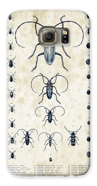 Insects - 1832 - 08 Galaxy S6 Case by Aged Pixel