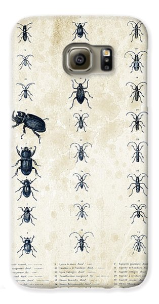 Insects - 1832 - 09 Galaxy S6 Case by Aged Pixel