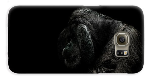 Orangutan Galaxy S6 Case - Insecurity by Paul Neville