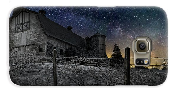 Galaxy S6 Case featuring the photograph Interstellar Farm by Bill Wakeley