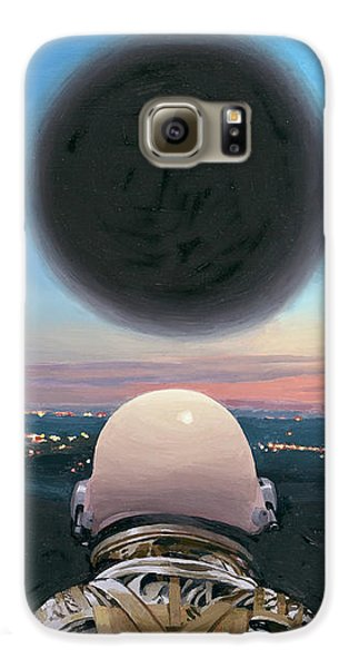 Into The Void Galaxy S6 Case by Scott Listfield