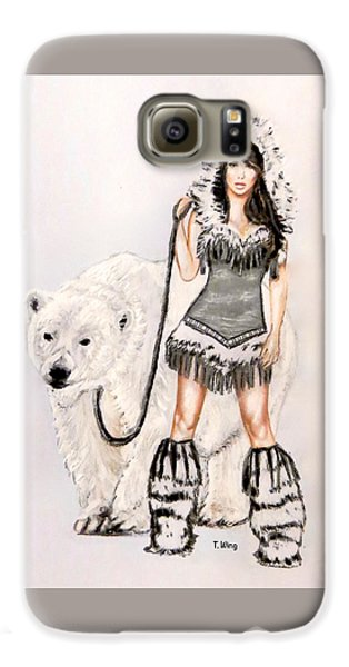 Inuit Pin-up Girl Galaxy S6 Case