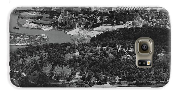 Inwood Hill Park Aerial, 1935 Galaxy S6 Case by Cole Thompson