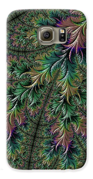Iridescent Feathers Galaxy S6 Case
