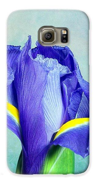 Iris Flower Of Faith And Hope Galaxy S6 Case by Tom Mc Nemar