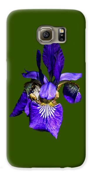 Galaxy S6 Case featuring the photograph Iris Versicolor by Mark Myhaver