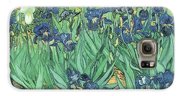 Irises Galaxy S6 Case by Vincent Van Gogh