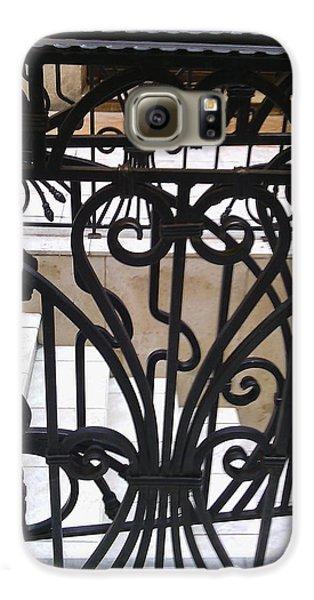 Decorative Galaxy S6 Case - Iron Decorative Heart by Anamarija Marinovic