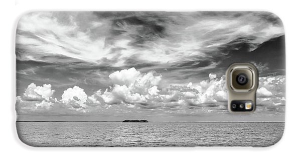 Island, Clouds, Sky, Water Galaxy S6 Case