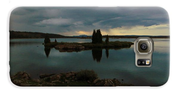 Island In The Storm Galaxy S6 Case by Karen Shackles