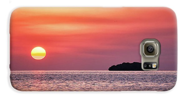 Island Sunset Galaxy S6 Case