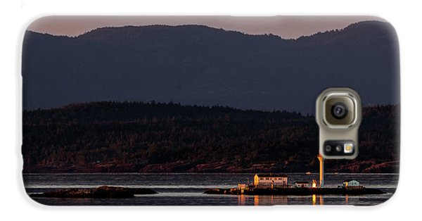Isolated Lighthouse Galaxy S6 Case