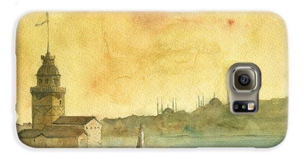 Turkey Galaxy S6 Case - Istanbul Maiden Tower by Juan Bosco