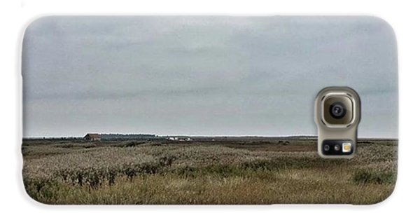 It's A Grey Day In North Norfolk Today Galaxy S6 Case by John Edwards
