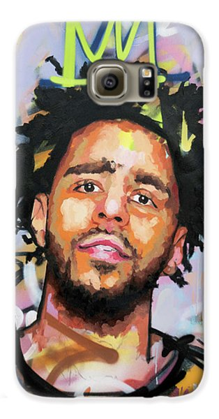 J Cole Galaxy S6 Case by Richard Day