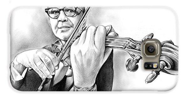 Violin Galaxy S6 Case - Jack Benny by Greg Joens