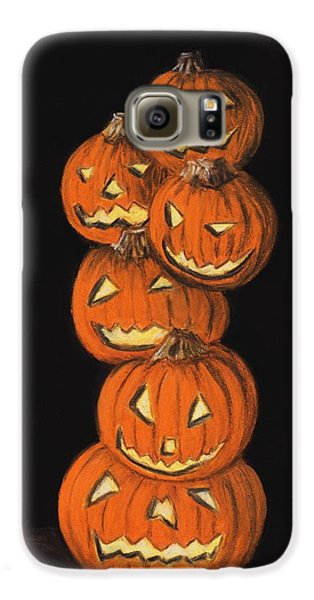 Jack-o-lantern Galaxy S6 Case
